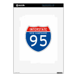 Interstate Sign 95 - New Hampshire Skins For The iPad 2