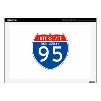 Interstate Sign 95 - New Jersey Laptop Decal