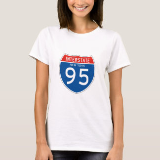 Interstate Sign 95 - New York T-Shirt