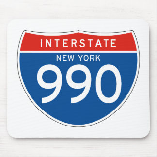 Interstate Sign 990 - New York Mouse Pad
