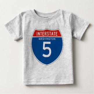 Interstate Sign the 5 - Washingtons Shirt