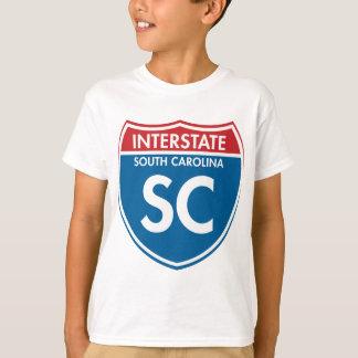 Interstate South Carolina SC T-Shirt