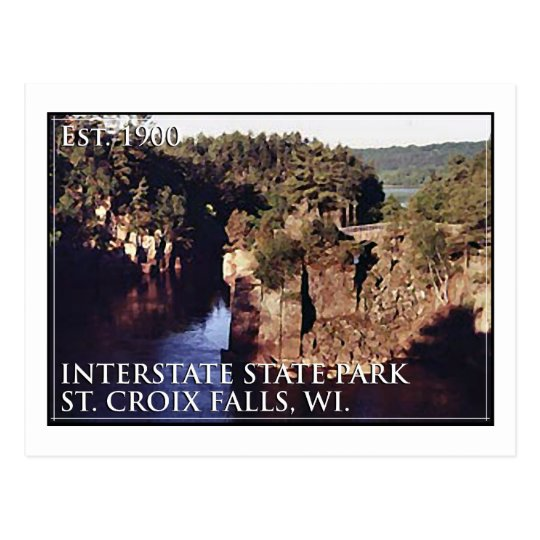 Interstate State Park Postcard