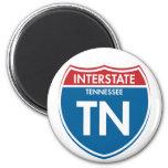 Interstate Tennessee TN 2 Inch Round Magnet