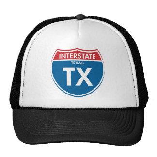 Interstate Texas TX Hat