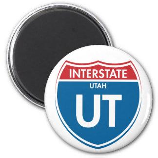 Interstate Utah UT Magnet
