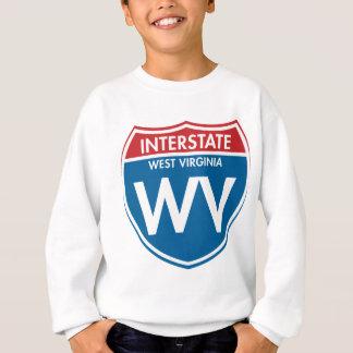 Interstate West Virginia WV Sweatshirt