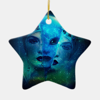 Interstellar Ceramic Ornament