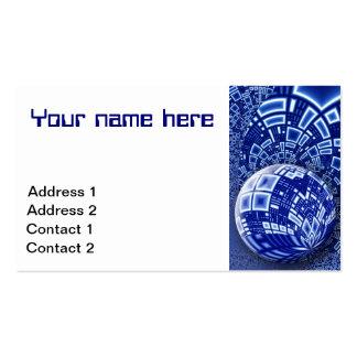 Interstellar City Business Card