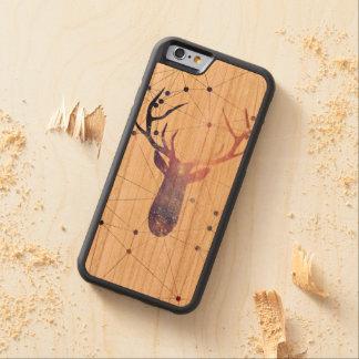 Interstellar deer carved® cherry iPhone 6 bumper
