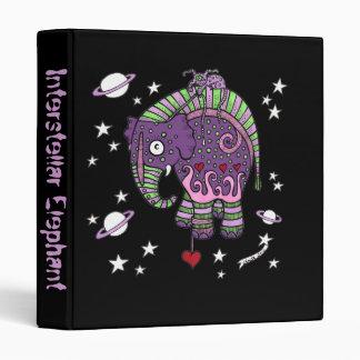 Interstellar Elephant Ring Binder