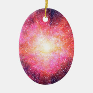 Interstellar Nebula Ceramic Ornament