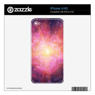 Interstellar Nebula iPhone 4S Decal