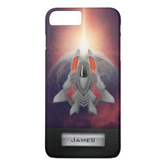 Interstellar Odyssey - Starship Fortitude iPhone 7 Plus Case