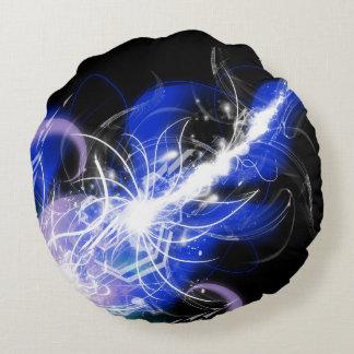 Interstellar Pearl Round Pillow