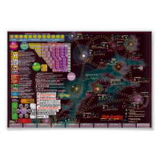 Interstellar Poster-Map, 2nd Edition High Frontier Poster