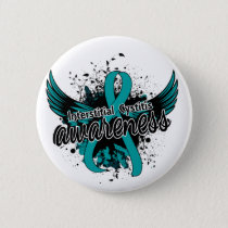 Interstitial Cystitis Awareness 16 Pinback Button