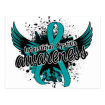 Interstitial Cystitis Awareness 16 Postcard