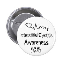 Interstitial cystitis Awareness Button