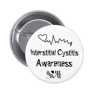 Interstitial cystitis Awareness Buttons