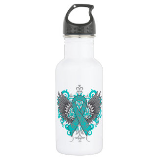 Interstitial Cystitis Awareness Cool Wings Water Bottle
