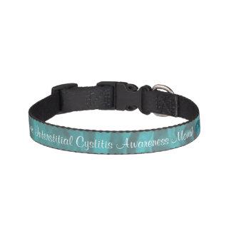 """""""Interstitial Cystitis Awareness"""" Dog Collar"""