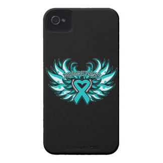 Interstitial Cystitis Awareness Heart Wings Case-Mate iPhone 4 Cases