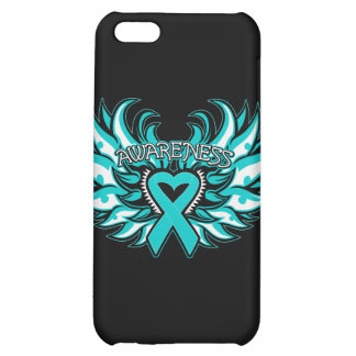 Interstitial Cystitis Awareness Heart Wings.png Case For iPhone 5C