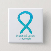 Interstitial Cystitis Awareness Ribbon Custom Pins