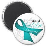 Interstitial Cystitis Awareness Ribbon Refrigerator Magnet