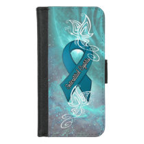 """Interstitial Cystitis Awareness"" Wallet Case"