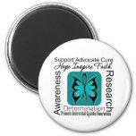Interstitial Cystitis Butterfly Inspirations 2 Inch Round Magnet