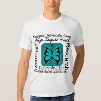 Interstitial Cystitis Butterfly Inspirations Tee Shirt