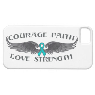 Interstitial Cystitis Courage Faith Wings iPhone 5 Cover