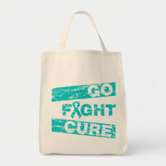 Interstitial Cystitis Go Fight Cure Canvas Bags