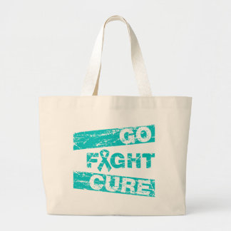 Interstitial Cystitis Go Fight Cure Canvas Bag