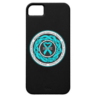 Interstitial Cystitis Hope Intertwined Ribbon iPhone 5 Cases