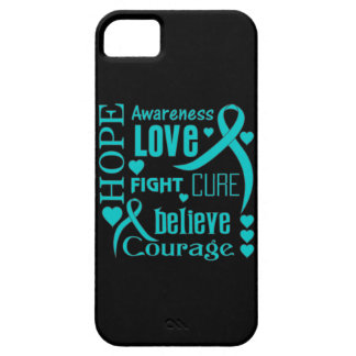 Interstitial Cystitis Hope Words Collage iPhone 5 Covers