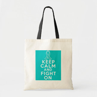 Interstitial Cystitis Keep Calm and Fight On Bag