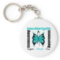 Interstitial Cystitis Keychain
