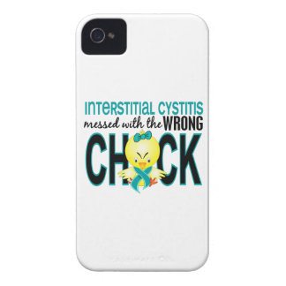 Interstitial Cystitis Messed With Wrong Chick iPhone 4 Covers