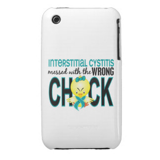 Interstitial Cystitis Messed With Wrong Chick iPhone 3 Covers