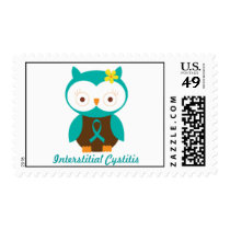 Interstitial Cystitis Owl Postage