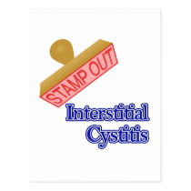 Interstitial Cystitis Postcard