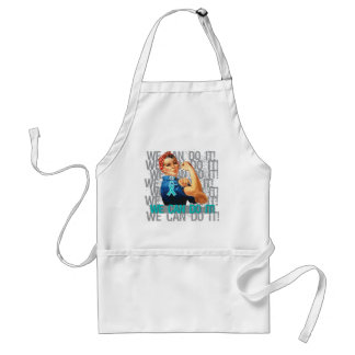 Interstitial Cystitis Rosie WE CAN DO IT Adult Apron