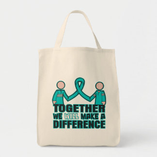 Interstitial Cystitis Together We Will Make A Diff Tote Bag