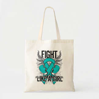 Interstitial Cystitis Ultra Fight Like A Girl. Canvas Bags