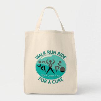Interstitial Cystitis Walk Run Ride For A Cure Tote Bag
