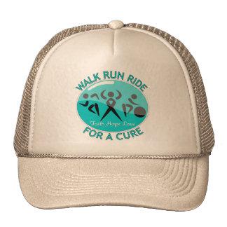Interstitial Cystitis Walk Run Ride For A Cure Trucker Hat