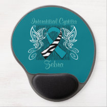 """Interstitial Cystitis Zebra"" Mousepad"